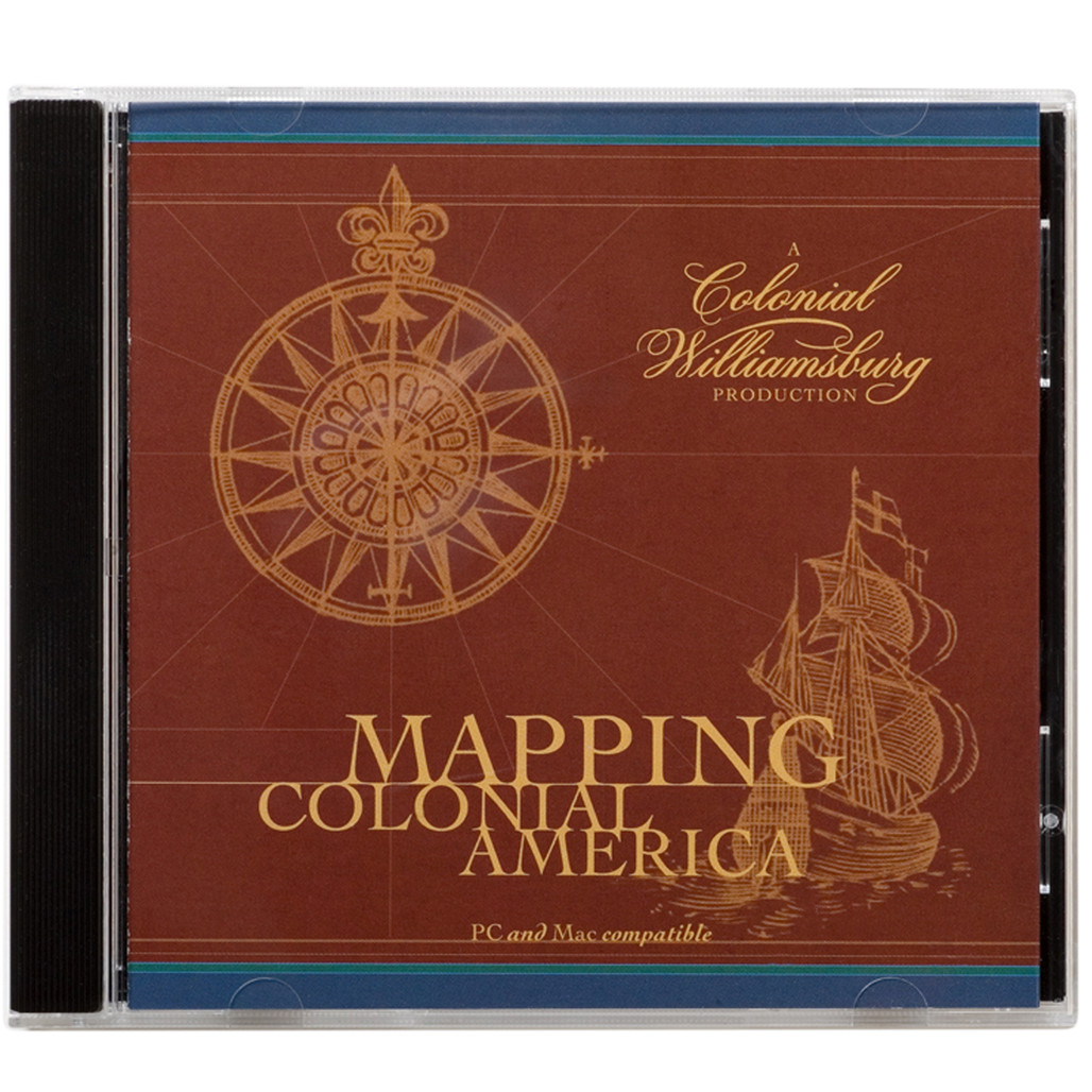 Mapping Colonial America CD ROM