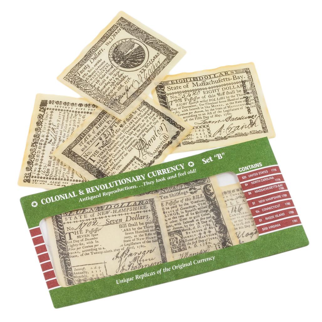 Colonial Money B
