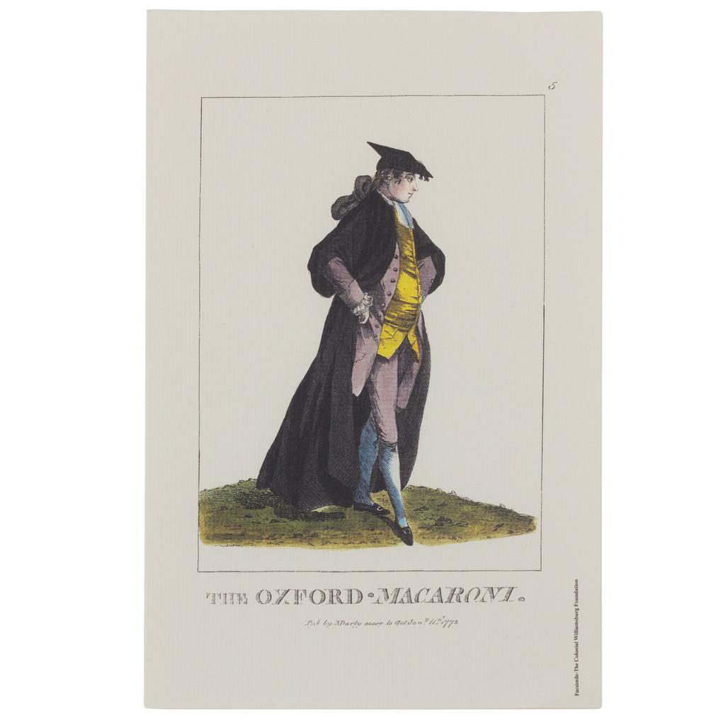 Oxford Macaroni Print