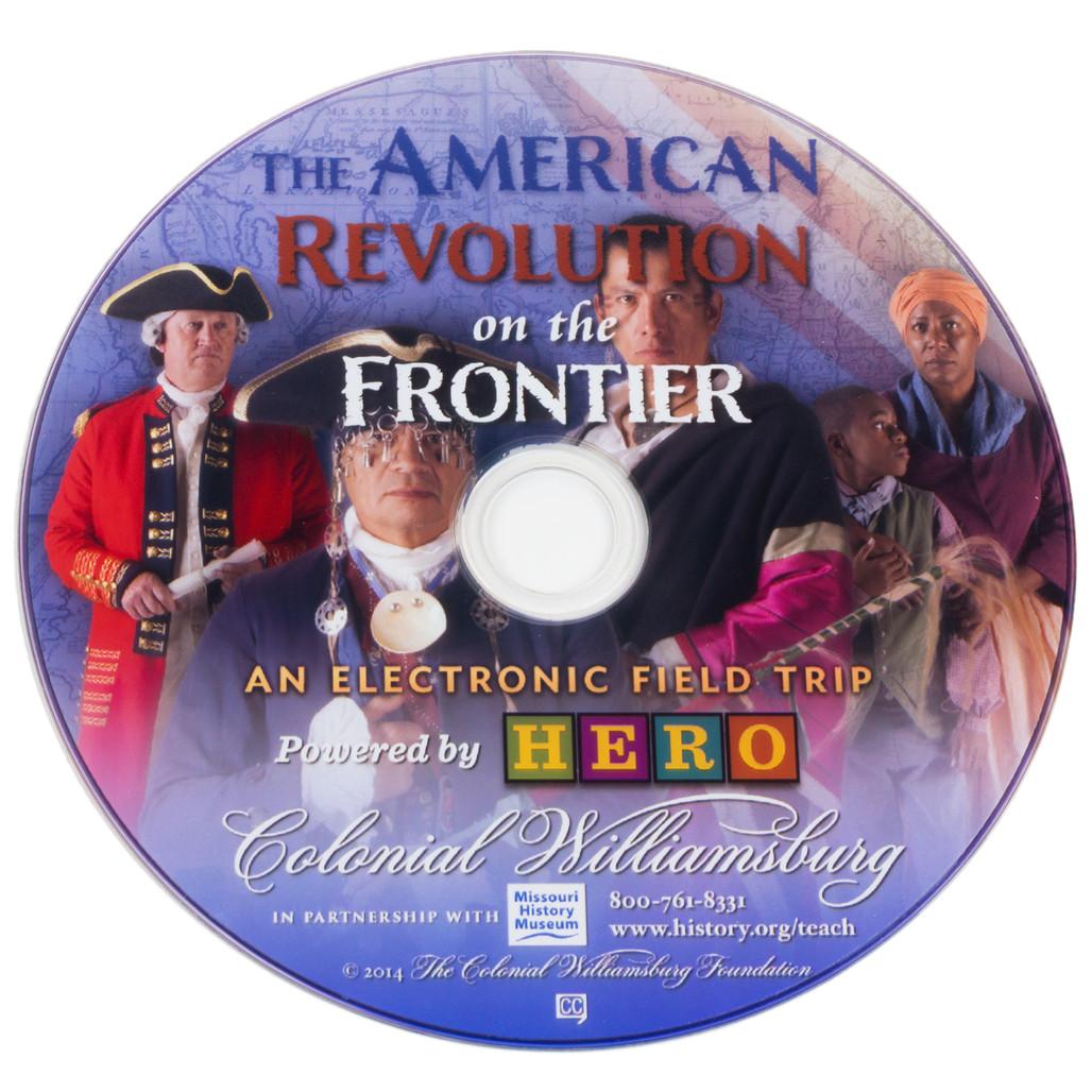 DVD TM American Revolution on the Frontier HERO