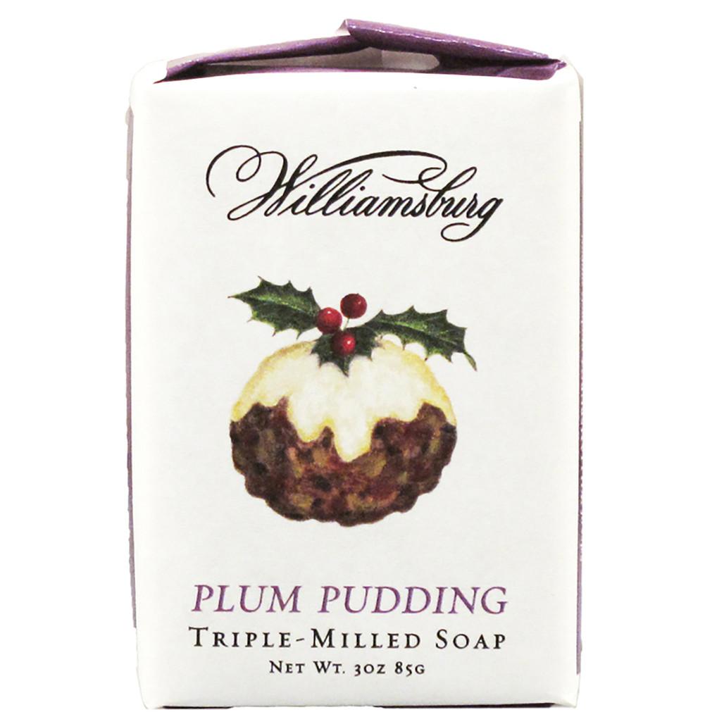 Plum Pudding Soap Bar