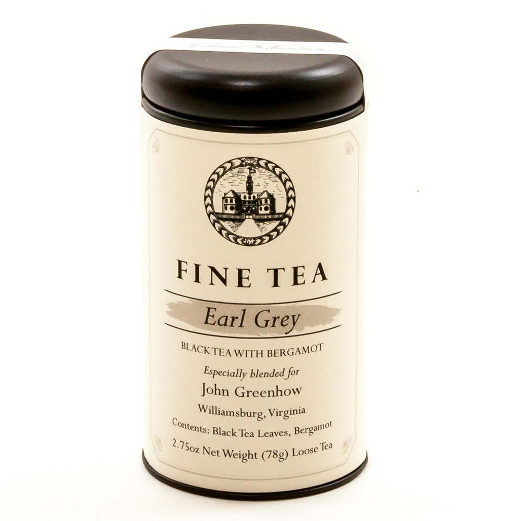 Earl Grey Colonial Loose Tea Canister