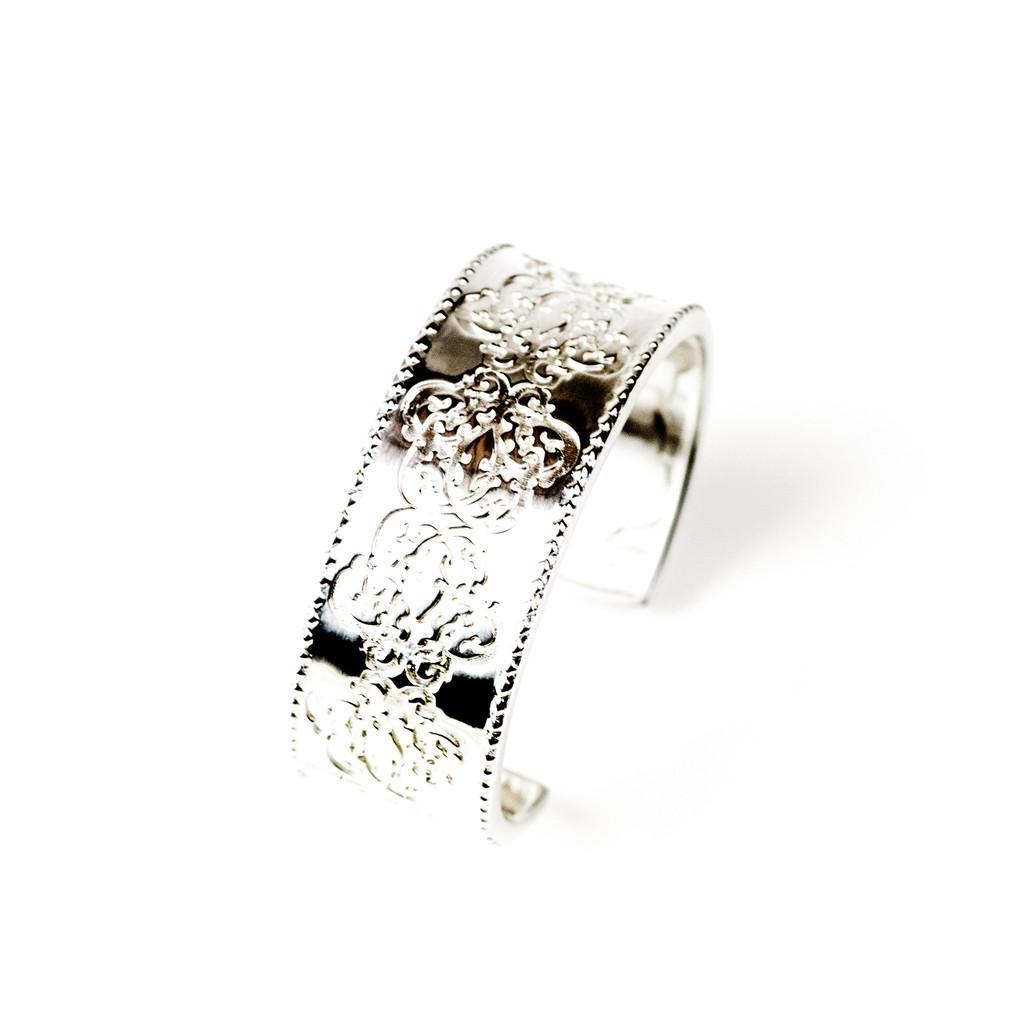 Medallion Cuff Bracelet