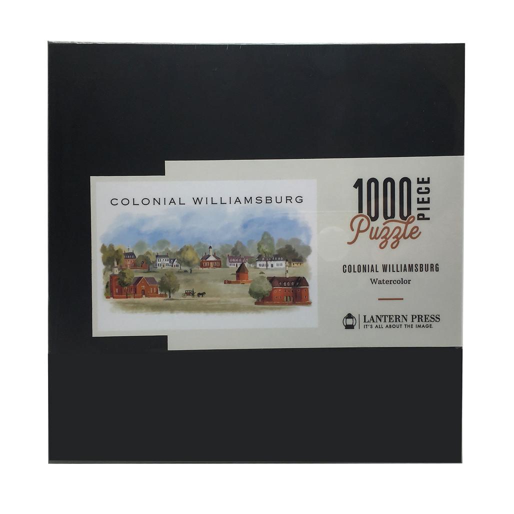 Colonial Williamsburg Watercolor 1,000 Piece Jigsaw Puzzle | The Shops at Colonial Williamsburg