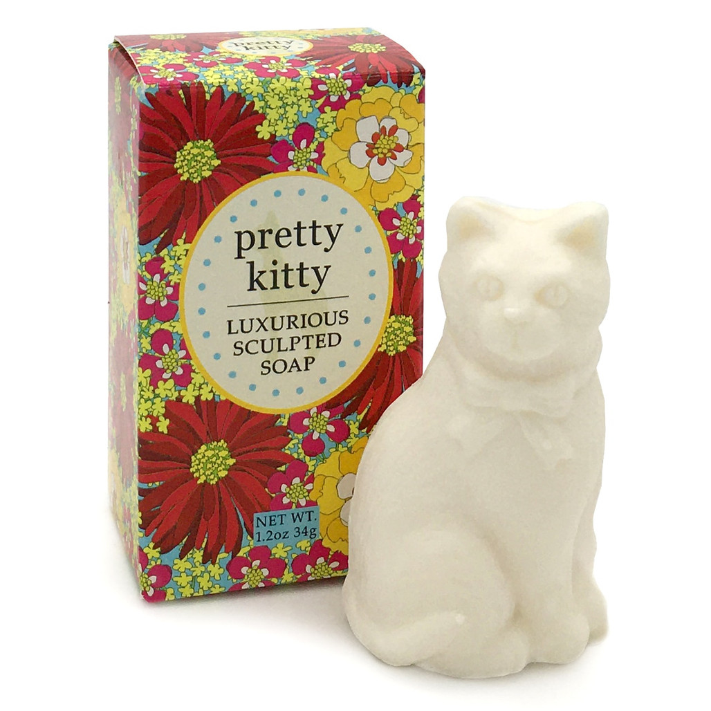 Pretty Kitty Sculpted Soap | The Shops at Colonial Williamsburg