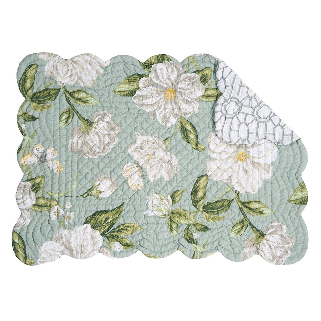 Magnolia Garden Rectangular Placemat - reversible | The Shops at Colonial Williamsburg