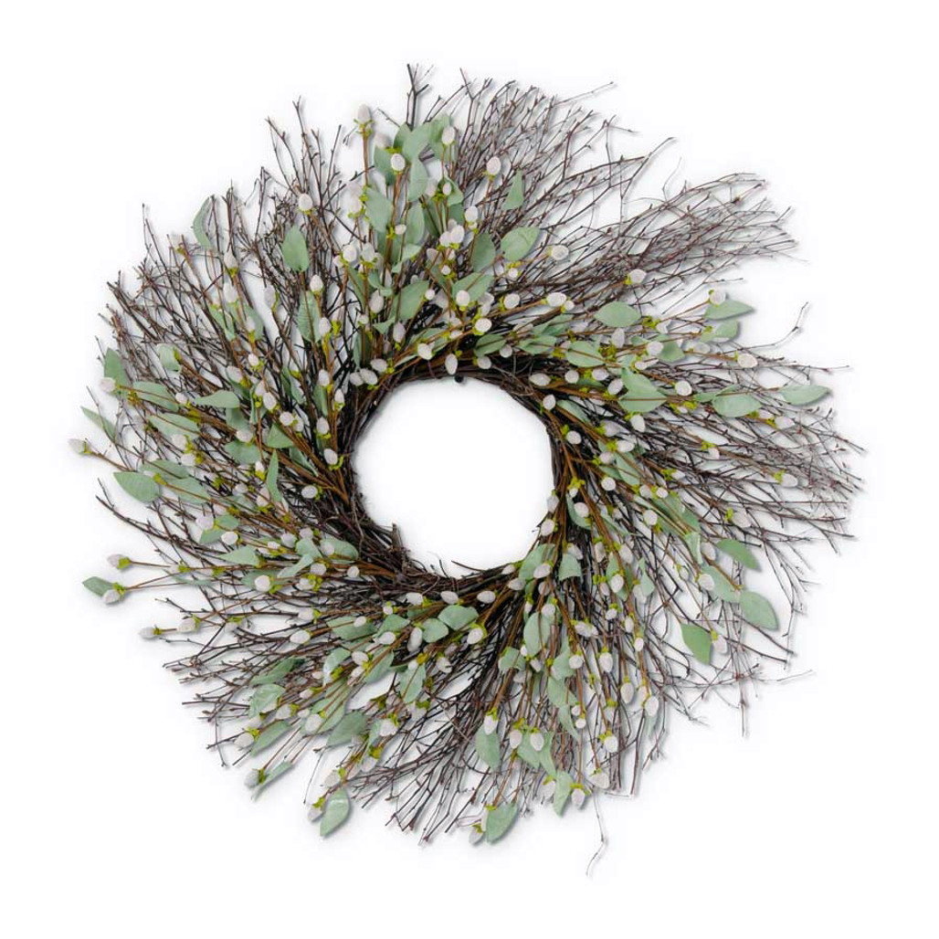 """Psyllium, Willow, & Twig Wreath 29""""   The Shops at Colonial Williamsburg"""