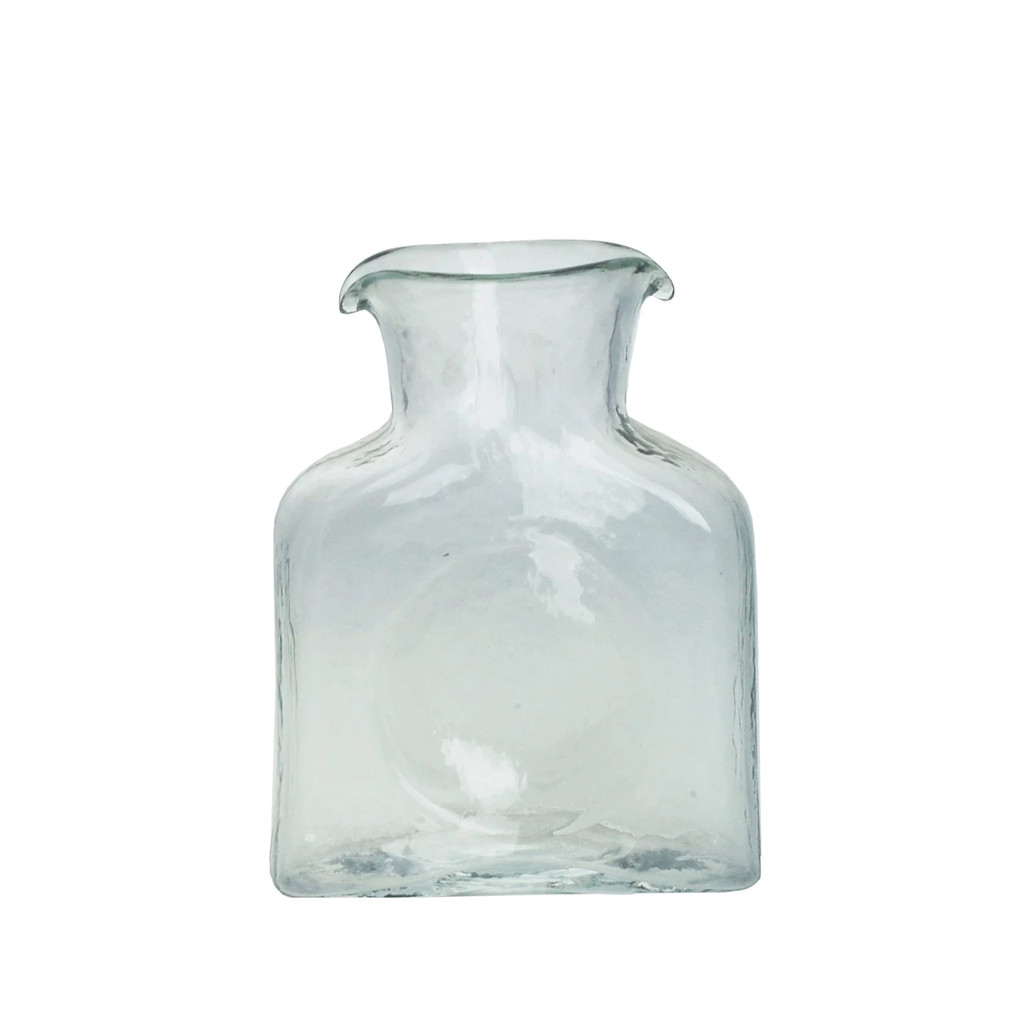 Blenko Glass Mini 384 Clear Water Bottle | The Shops at Colonial Williamsburg