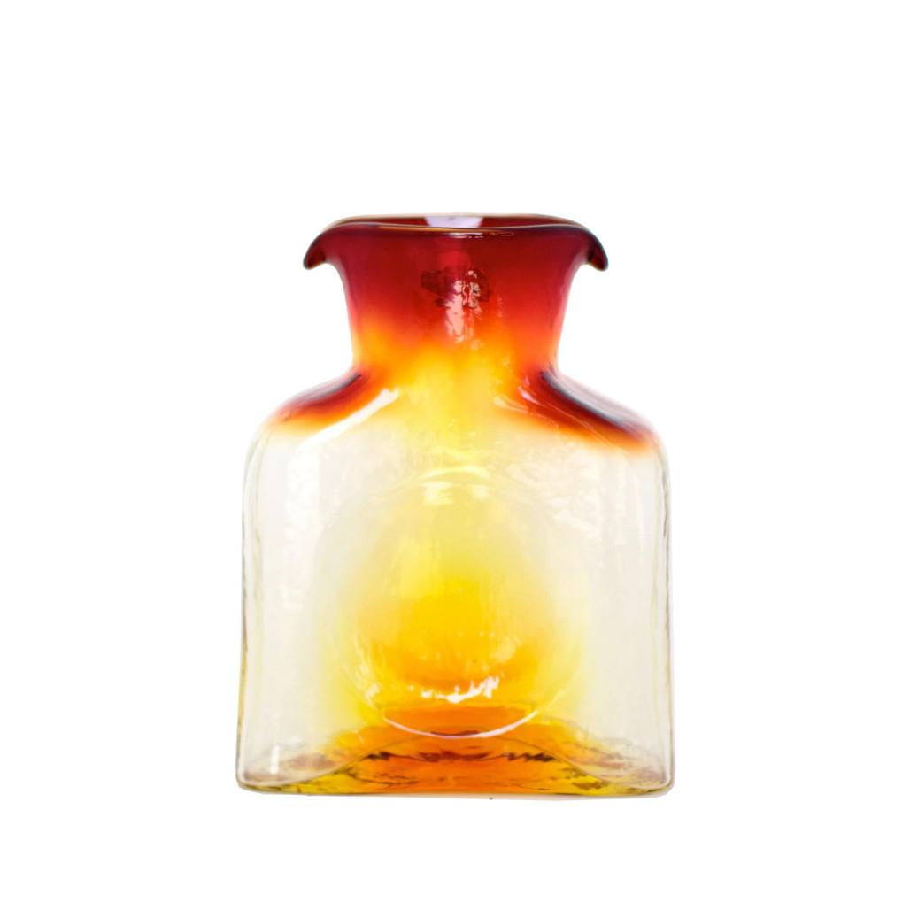 Blenko Glass Mini 384 Tangerine Water Bottle | The Shops at Colonial Williamsburg