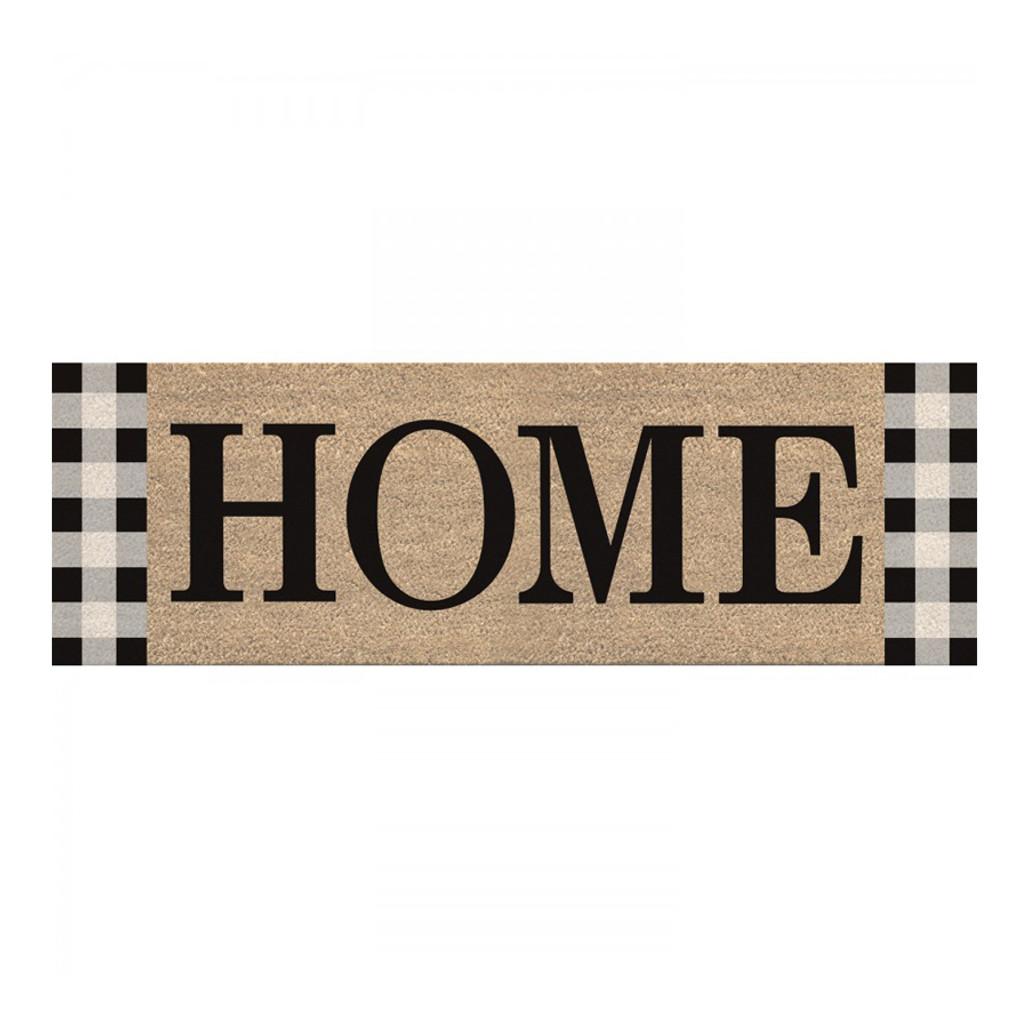 "Tavern Check ""Home"" Door Mat   The Shops at Colonial Williamsburg"