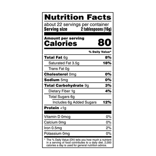 American Heritage Grated Dark Chocolate - nutrition info