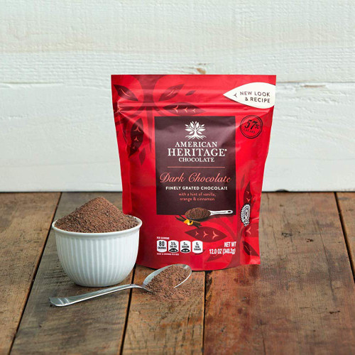 American Heritage Grated Dark Chocolate - product