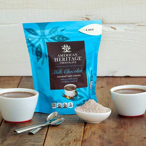 American Heritage Chocolate Milk Chocolate Drink Mix - product
