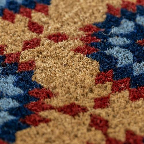 Star Quilt Coir Mat