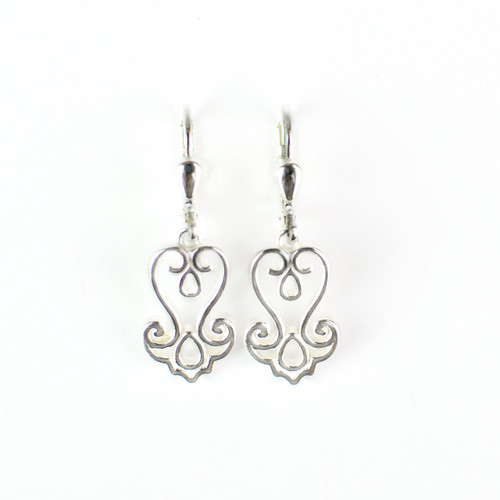Baroque Filigree Drop Earrings