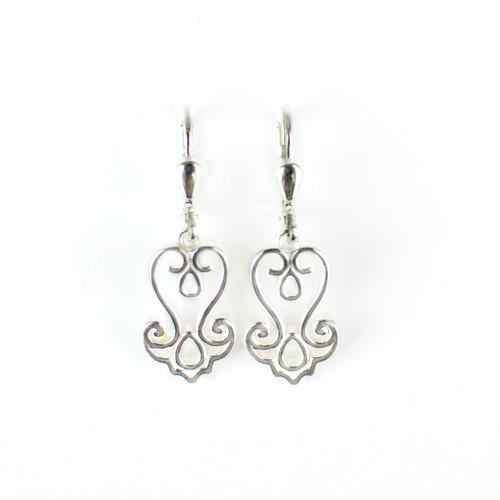 Baroque Filigree Drop Earrings