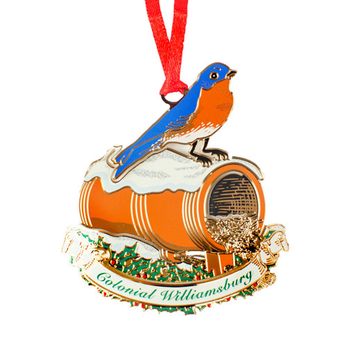 Bluebird and Bird Bottle Ornament | The Shops at Colonial Williamsburg