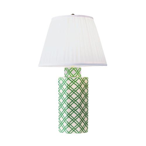 Bamboo Trellis Hexagon Lamp | The Shops at Colonial Williamsburg