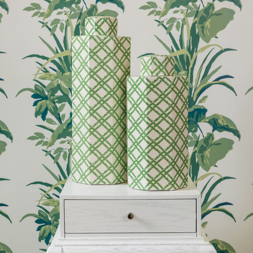 Bamboo Trellis Large Jar | The Shops at Colonial Williamsburg