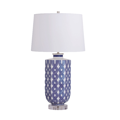 Port 68 WILLIAMSBURG Evelyn Blue Lamp