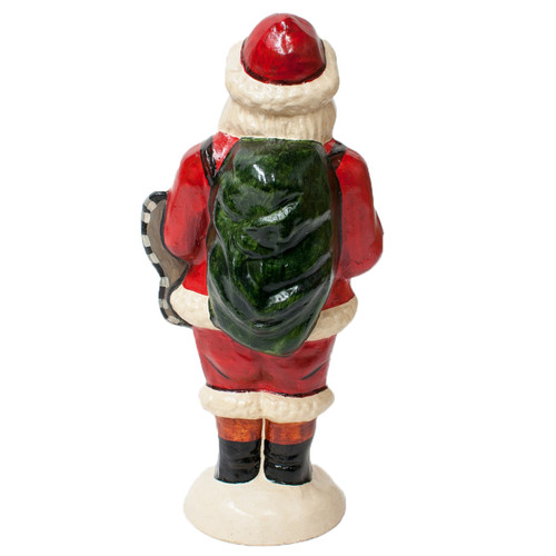 Vaillancourt Santa with Wine