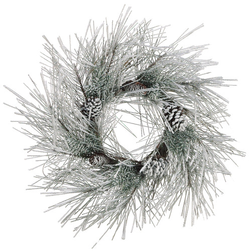 Snow Pine Wreath | The Shops at Colonial Williamsburg