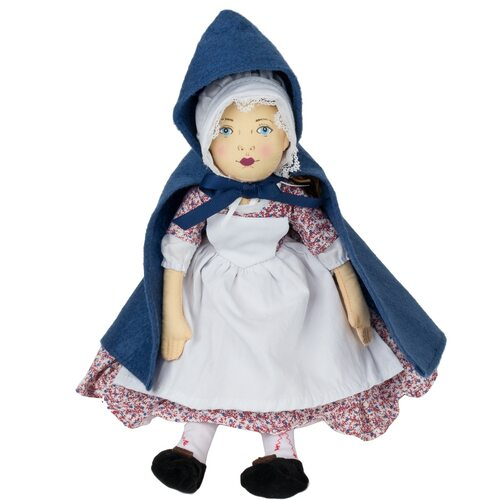 Sarah Doll with Blue Cape