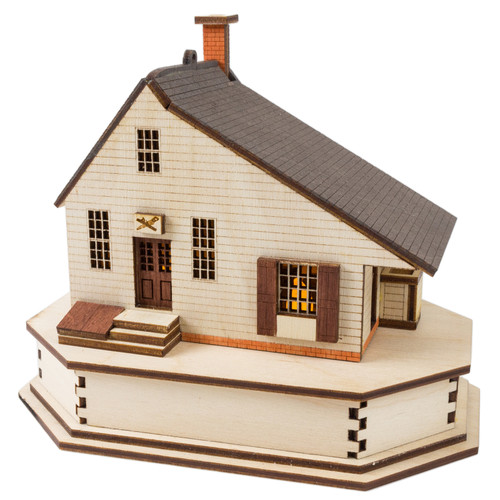 Taliaferro-Cole Shop - Joiner Replica Lighted House
