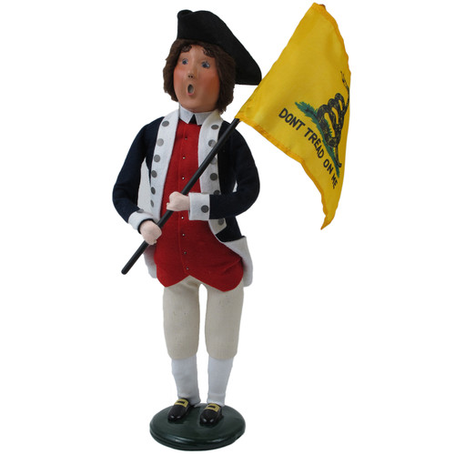 Byers' Choice Patriotic Man with Flag