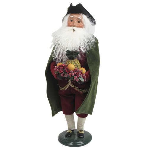 Byers' Choice Holiday Man with Beard and Pineapple