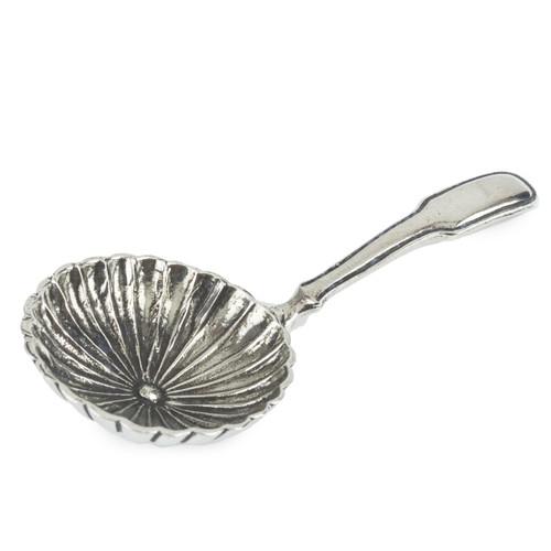 Round Petal Bowl Tea Caddy Spoon