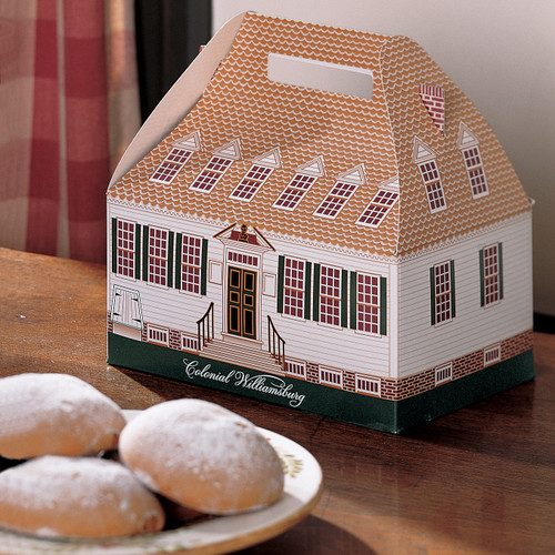 Dollhouse Miniature Size Ginger Snaps Cookie box