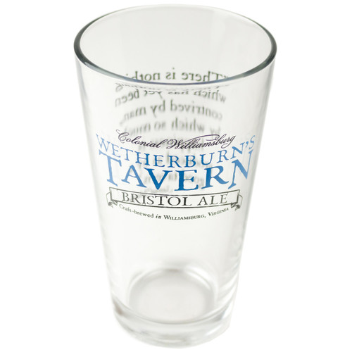 Wetherburn's Bristol Ale Pint Glass