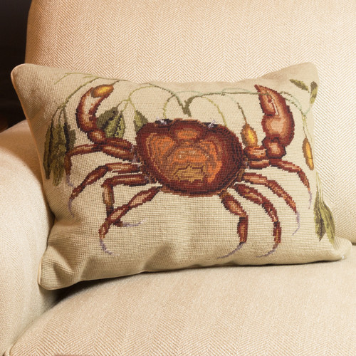 Catesby Crab Pillow