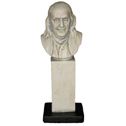 Ben Franklin Bust Sculpture