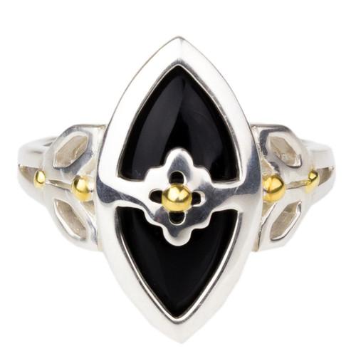 Marquis Onyx Ring