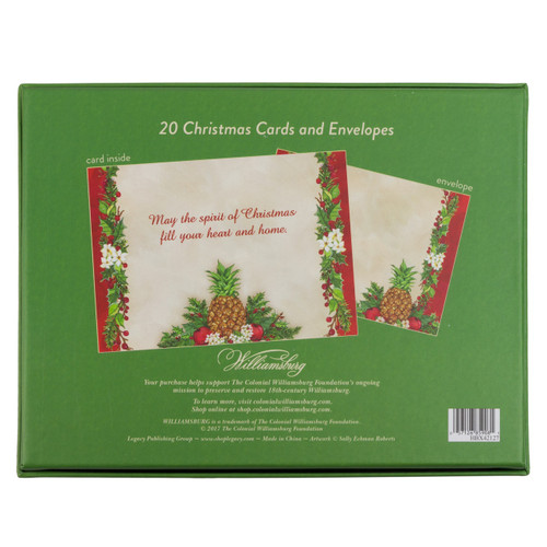 Holiday Pineapple Christmas Cards