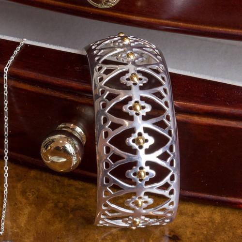 Marquis Onyx Pierced Bracelet