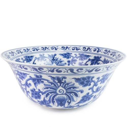 Swirling Florals  Bowl