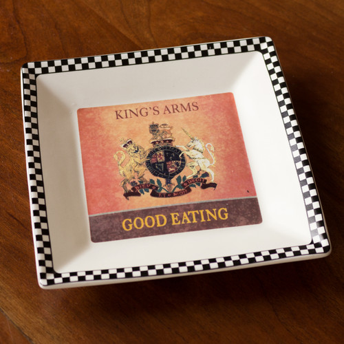King's Arms Tavern Square Tray