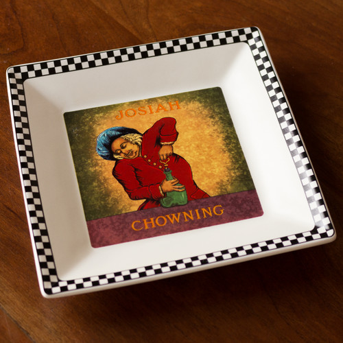 Chowning's Tavern Square Tray