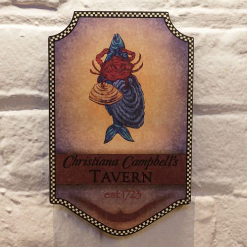 Christiana Campbell's Tavern Plaque