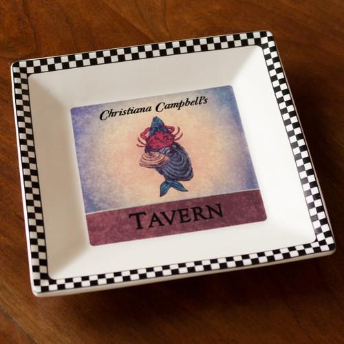 Christiana Campbell's Tavern Square Tray