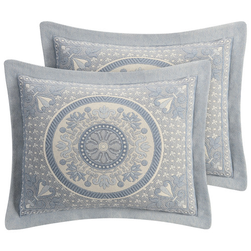 Blue Bassett Bedding Collection - Shams