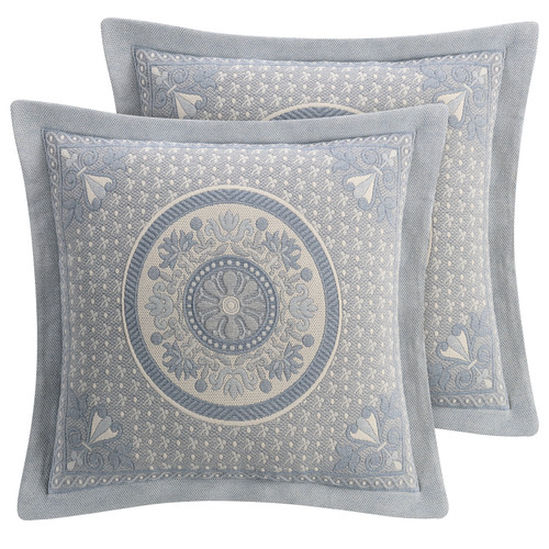 Blue Bassett Bedding Collection - Euro Shams