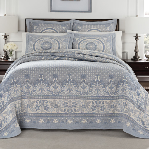Blue Bassett Bedding Collection
