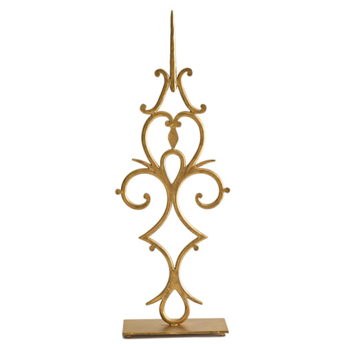 Large Gold Time Sculpture