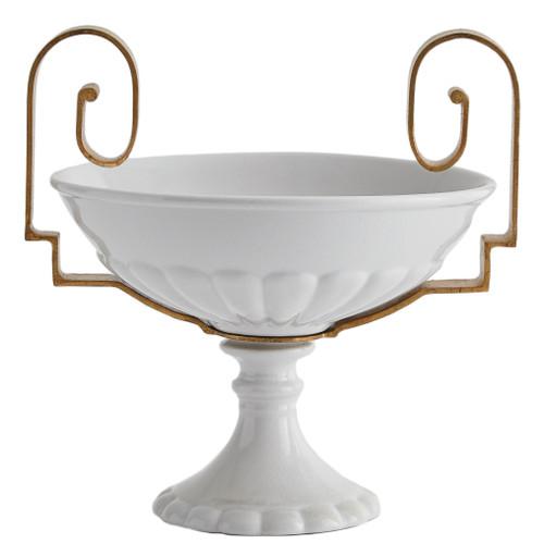 White Palladian Compote