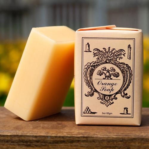 Orange Soap Bar