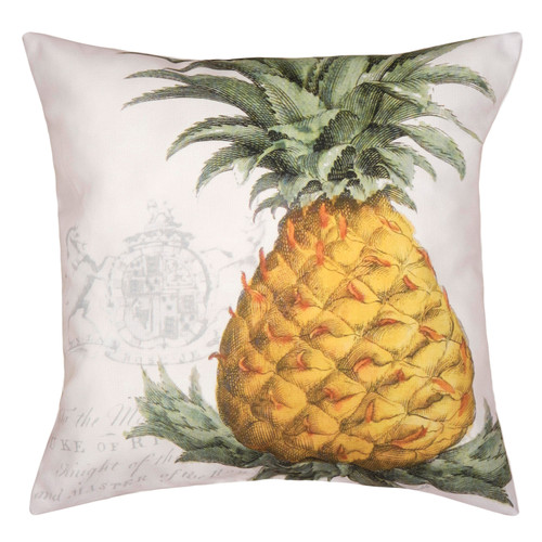 Pineapple Crest Indoor/Outdoor Pillow